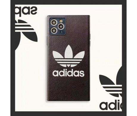 iPhone 12 Miniケース ハイブランド アディダス アイフォン12 真革製カバー