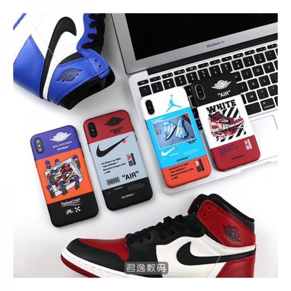 オフホワイト Iphone12 Pro/12 pro max/12 miniケース ブランド 創意柄 Balanciaga バレンシアガ IPHONE 11/11pro Max/X/XR/XSケース Nike ナイキ Off White アイフォン12/X/8/7/6/6s/se2スマホケース Air Jordan ジョーダン ジャケットカバー