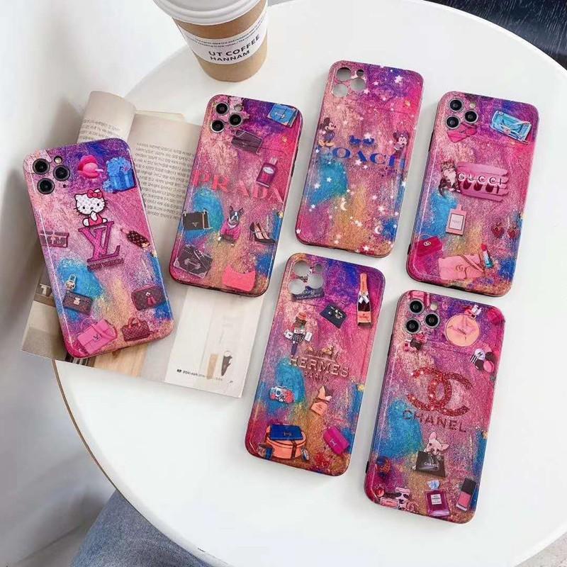 Chanel シャネル Iphone 12 2020カバー LV/ルイヴィトン Pradaプラダ iphone 12/12 pro/12 mini/12 pro max/11/11 pro/11 pro max/se2ケース お洒落 AIRPODS 1/2/3/PROケース ブルドッグ シャンパン ハローキティ iPhone X/XS/XRケース ミッキーマウス